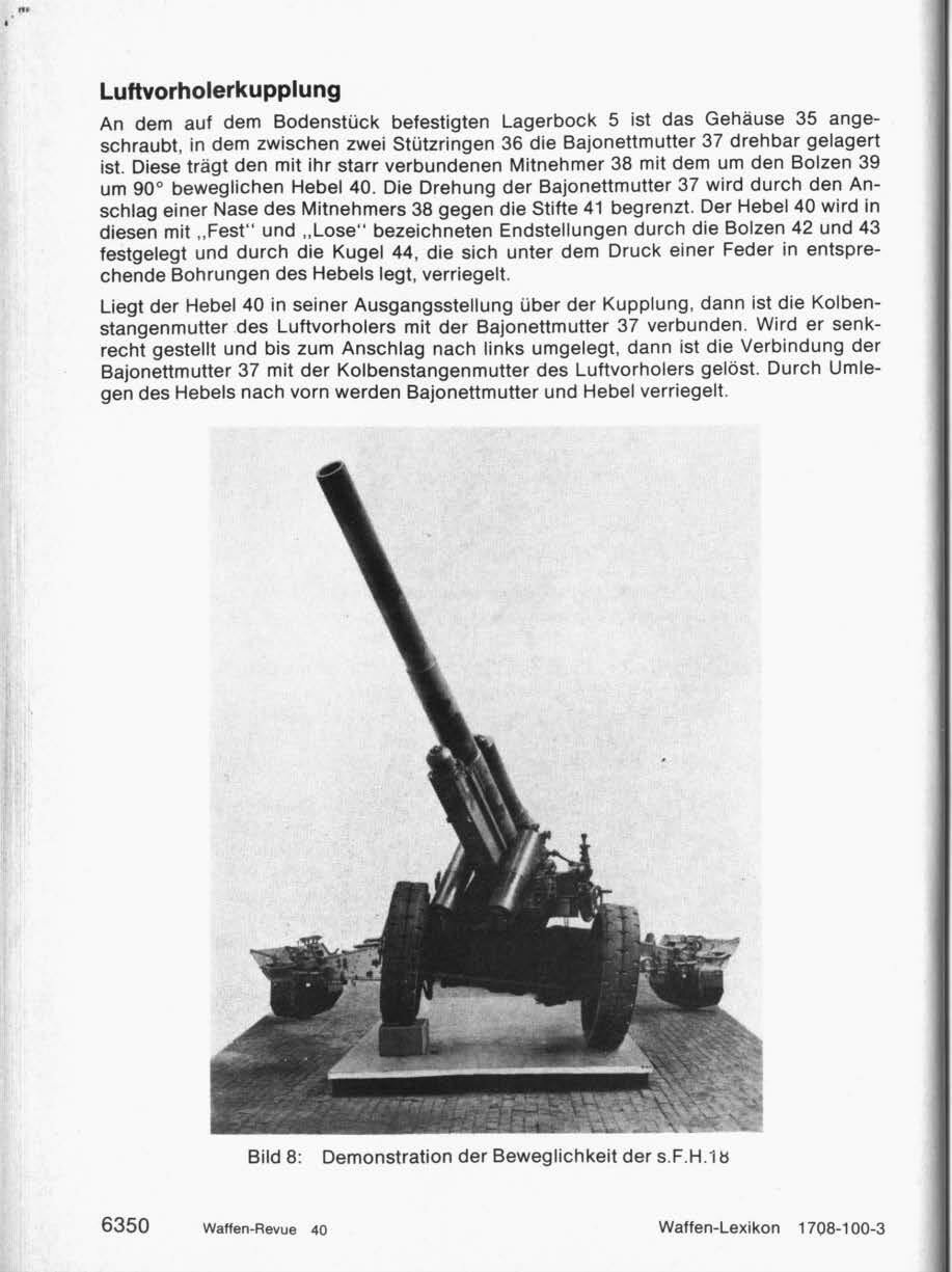 """WAFFEN REVUE"" Nr. 40 I. Quartal 1981"