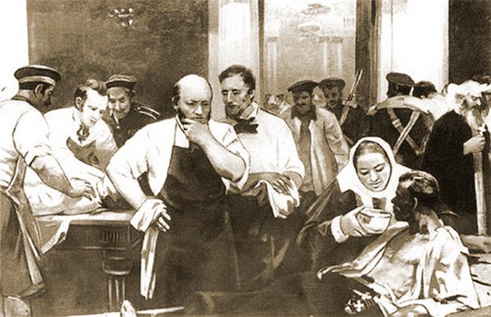 врач Пирогов
