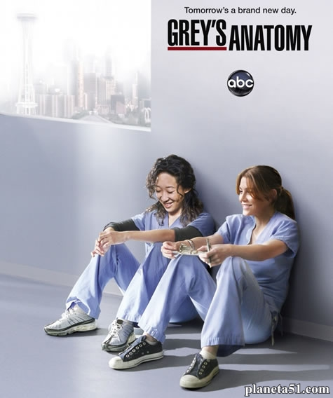 Анатомия страсти (Анатомия Грей) (1-11 сезон: 1-244 серии из 244) / Grey's Anatomy / 2005-2014 / ПМ (CTC, Fox Life) / WEB-DLRip, HDTVRip