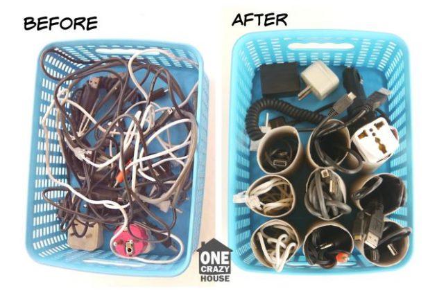 Если провода вам не мешают, можно просто прикрепить к каждому ярлык, чтобы было проще их различать.