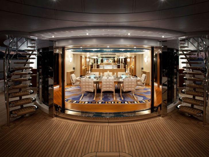 Яхта SYCARA V Пункт прибытия: Карибские острова. Цена за неделю: 585 тысяч долларов. Яхта SYCARA V р