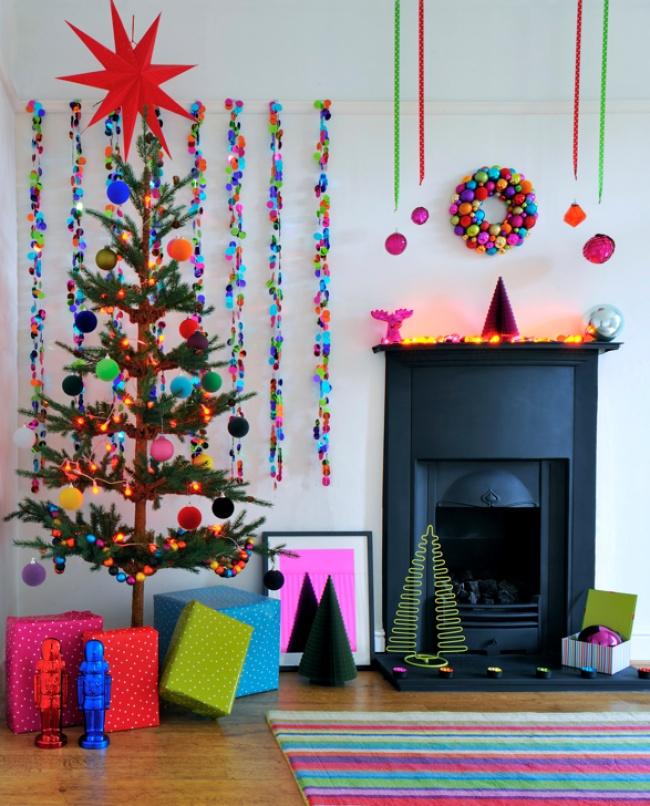 © brightbazaarblog  Добавьте цвета воформление вашей комнаты: используйте непривычные, нотак