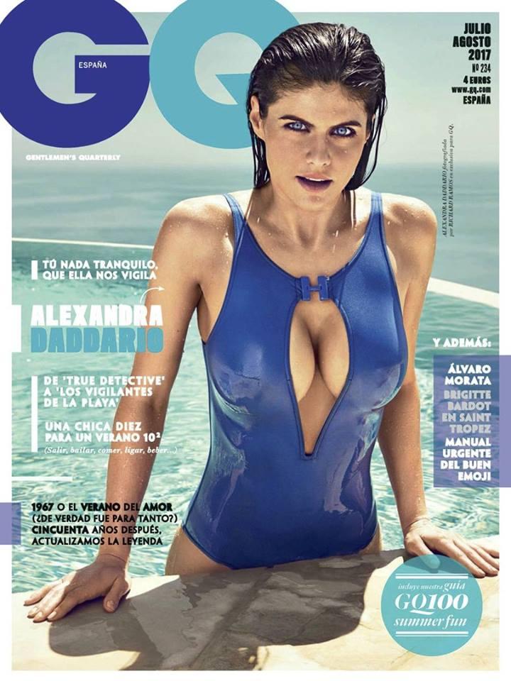 Александра Даддарио в GQ