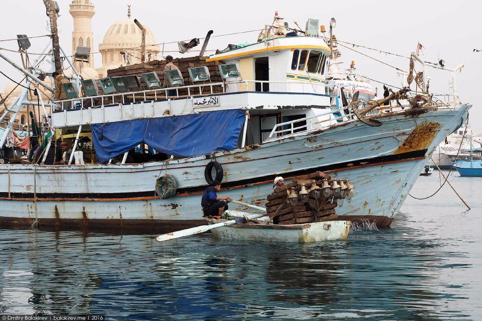 5. Египет невероятно контрастен. Самая дорогая улица «Марина» соседствует с трущобами, где по д
