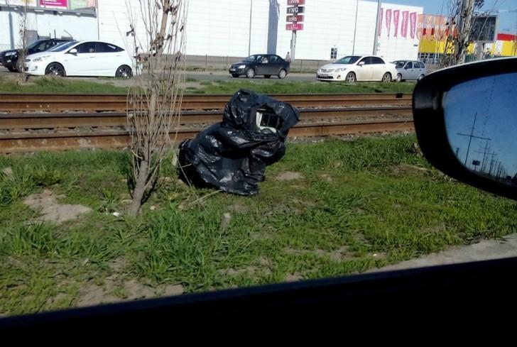 2. Мешок с мусором С виду — обыкновенный мешок с мусором, а внутри сюрприз — видеофиксатор.