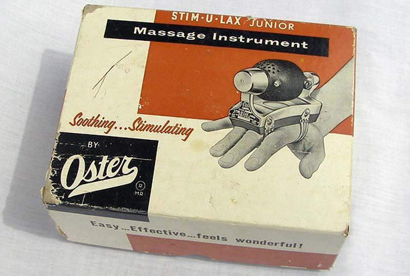 4. Устройство для парикмахеров Oster Stim-u-lax for Barbers, 1948. Ну, возможно, его действительно и