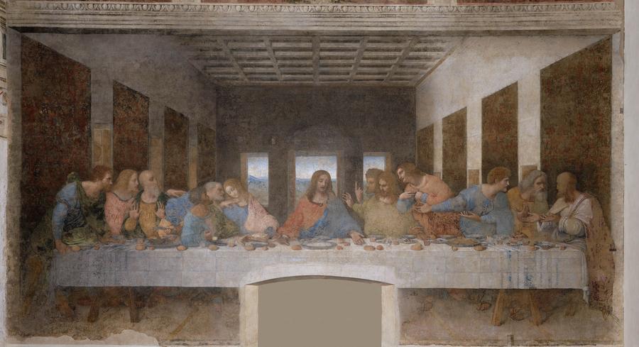 6. «Тайная вечеря» При написании своей картины Леонардо да Винчи особое внимание уделил фигурам Хрис