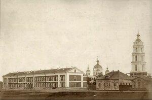Вид на церковь Воздвижения. 1860
