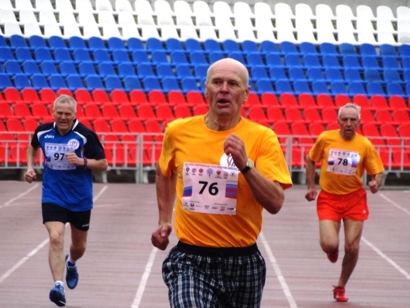 Команда престарелых новгородцев заняла 3-е место наСпартакиаде пенсионеров РФ