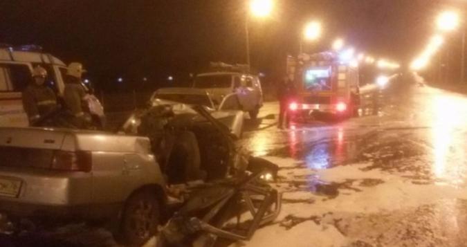 ВЯрославле произошло ужасающая авария наДобрынинском мосту, есть жертвы