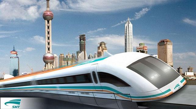Китайская компания начала разработку высокоскоростного поезда намагнитной подушке