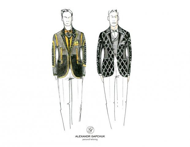 Украинские дизайнеры создали эскизы костюмов ведущих Евровидения