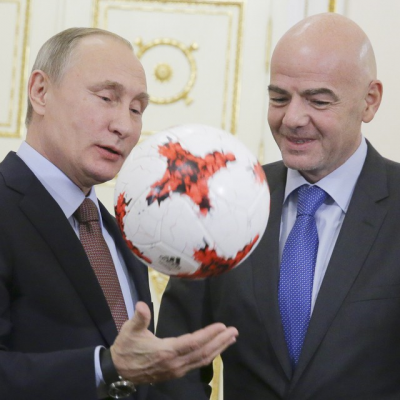 При строительстве стадиона наКрестовском острове были нарушены права рабочих— руководитель FIFA