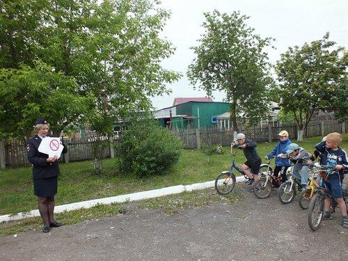 велопробег школьников в Куйбышеве