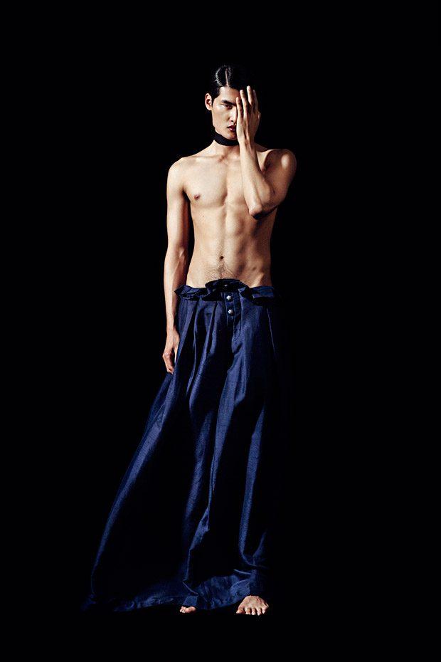 Li Qui Kai, Kim Dong Geon & Viet Dzung Pose for Feroce Magazine