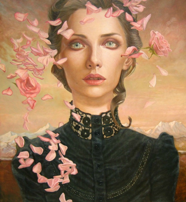 Kris Lewis, Portrait of woman.