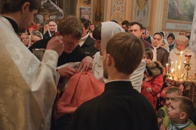 Пасха 2010 г. Свято-Никольский кафедральный собор. Алчевск