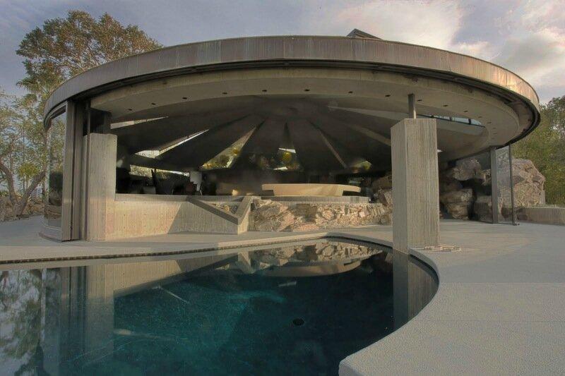 Модернистская архитектура в Палм Спрингс