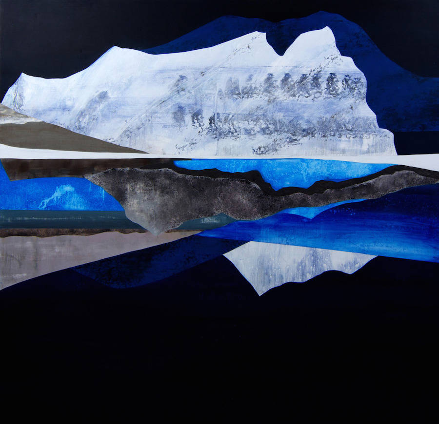 Oneiric Paintings of Mountainous Landscapes