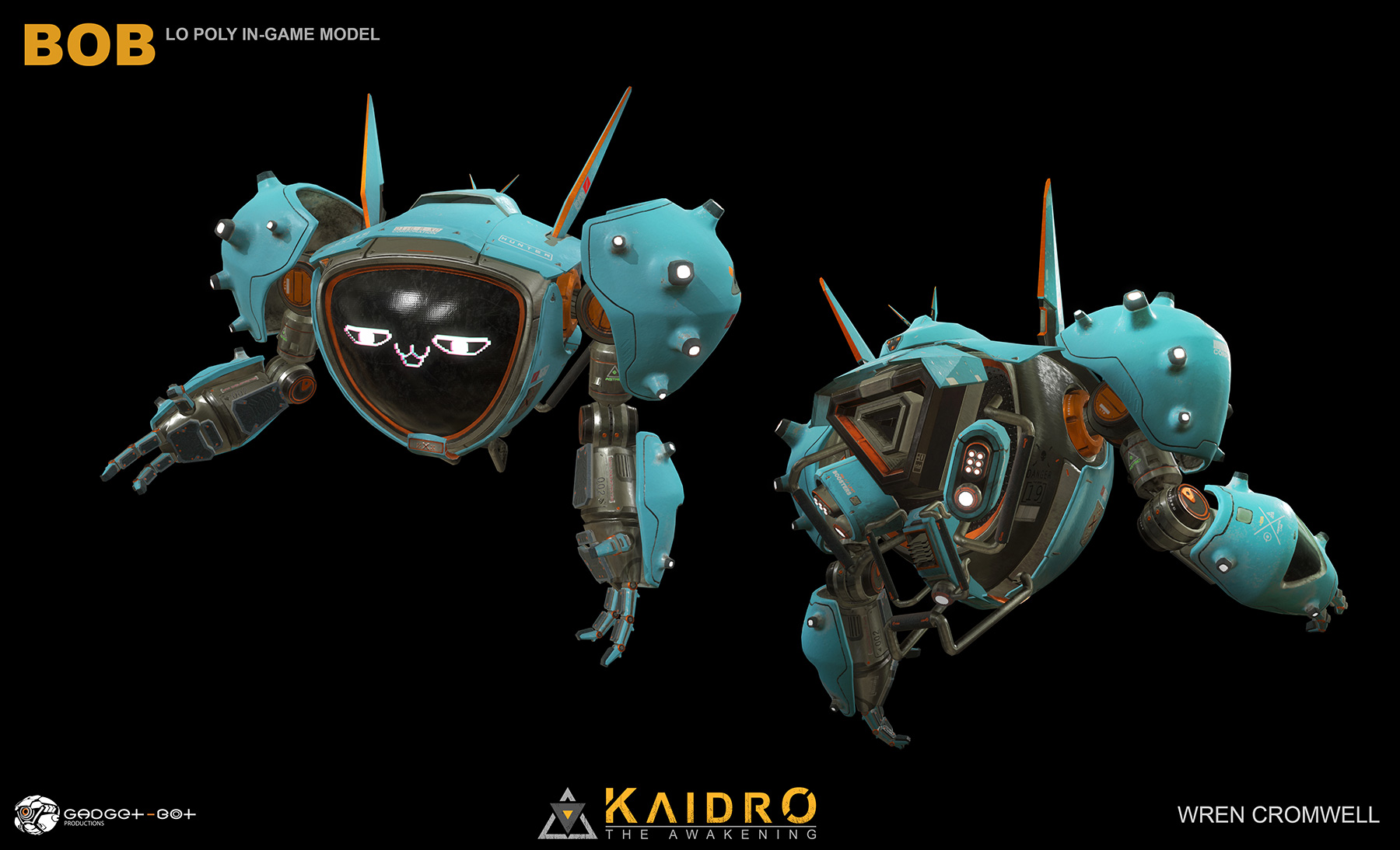 KAIDRO: The Awakening a VR Game Demo by Gadget-Bot Productions