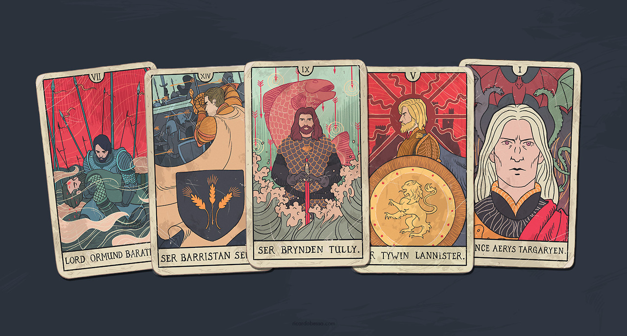 Game of Thrones Season 6 Blu-Ray Illustrations by Ricardo Bessa