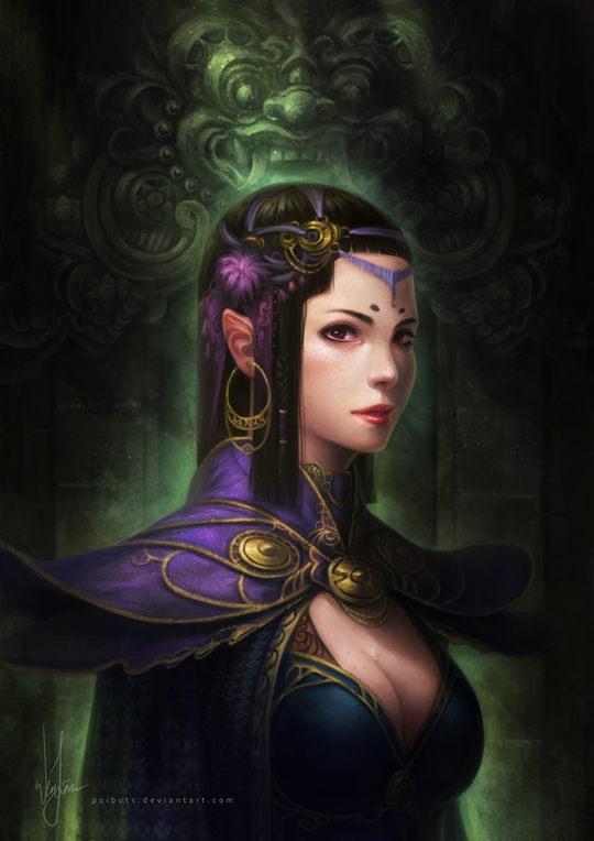 Gorgeous Art by Wen Juinn