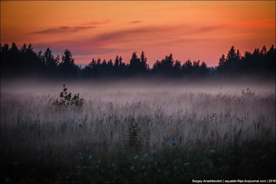 Закат в российской глубинке
