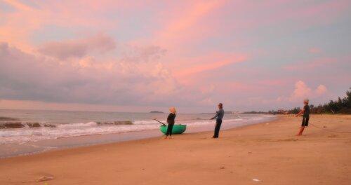 Рыбаки. Муйне. Вьетнам