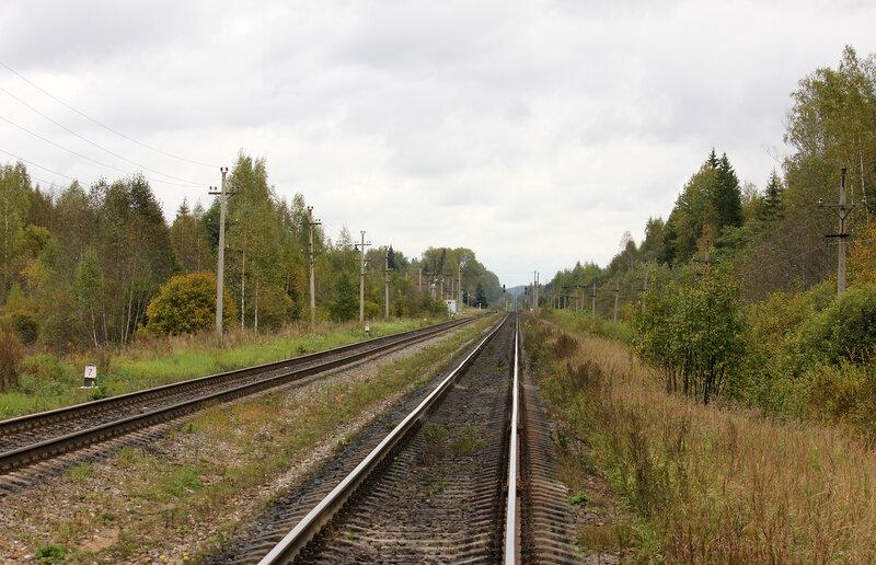 Станция Подсосенка, вид на Ржев