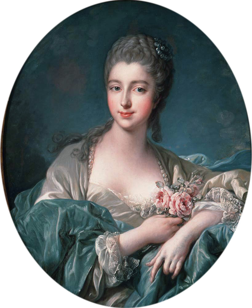 Portrait of a lady, by François Boucher