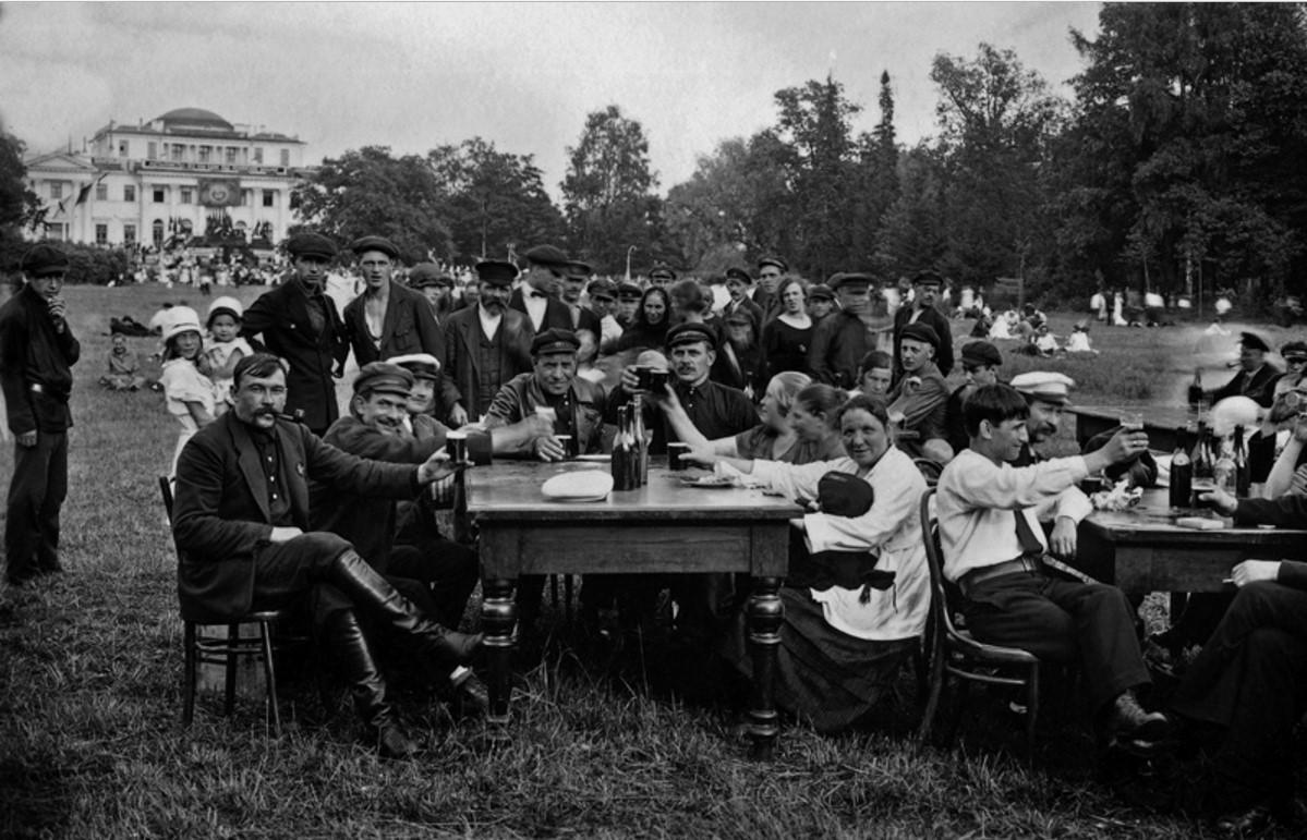1925. В парке на Елагином острове