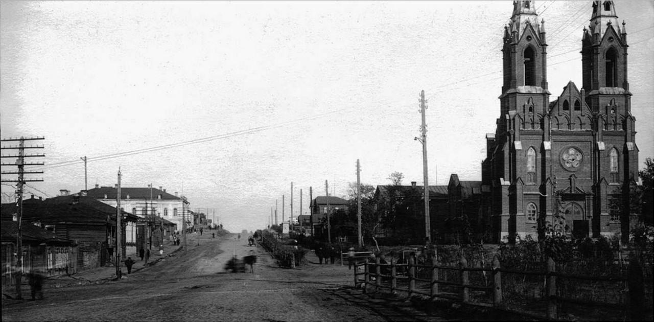 Польский костел. 1932