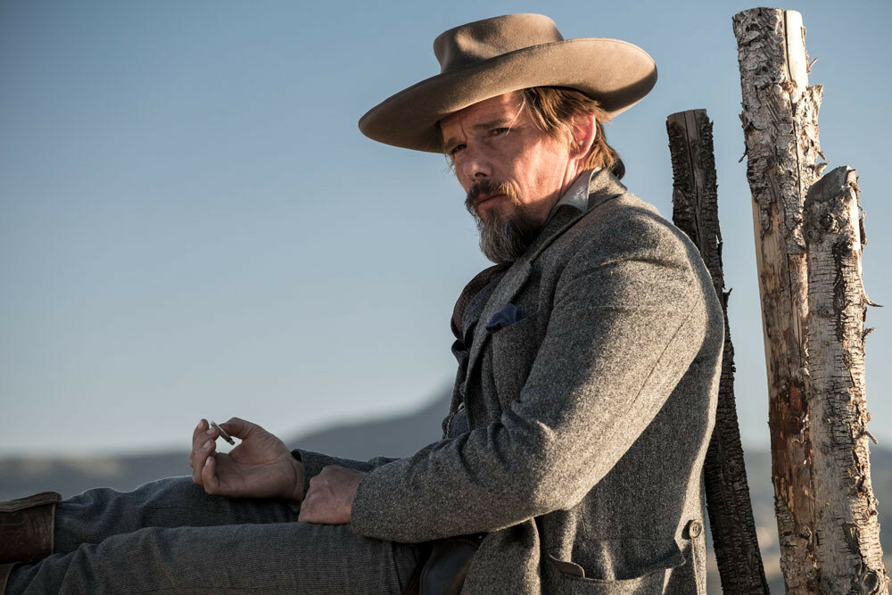 Ethan Hawke in Metro-Goldwyn-Mayer Pictures and Columbia Pictures' THE MAGNIFICENT SEVEN.