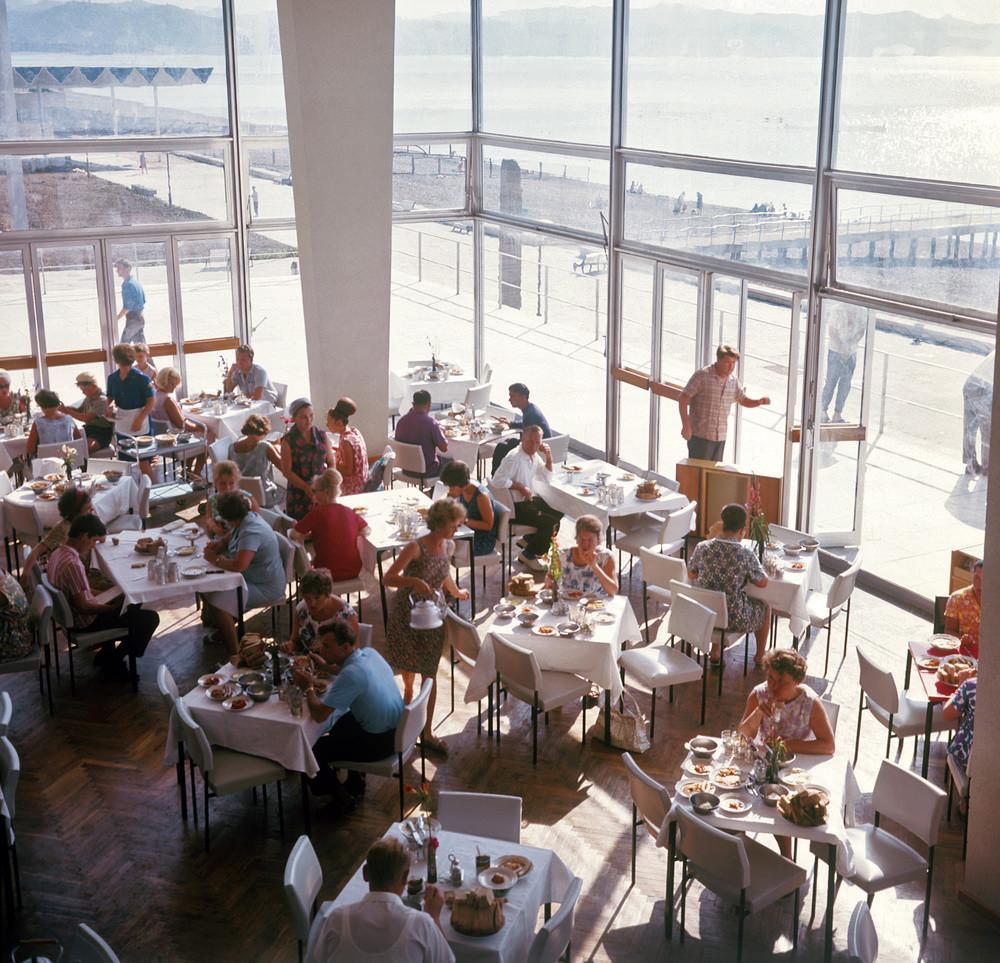 Курорт Пицунда, 1972 год