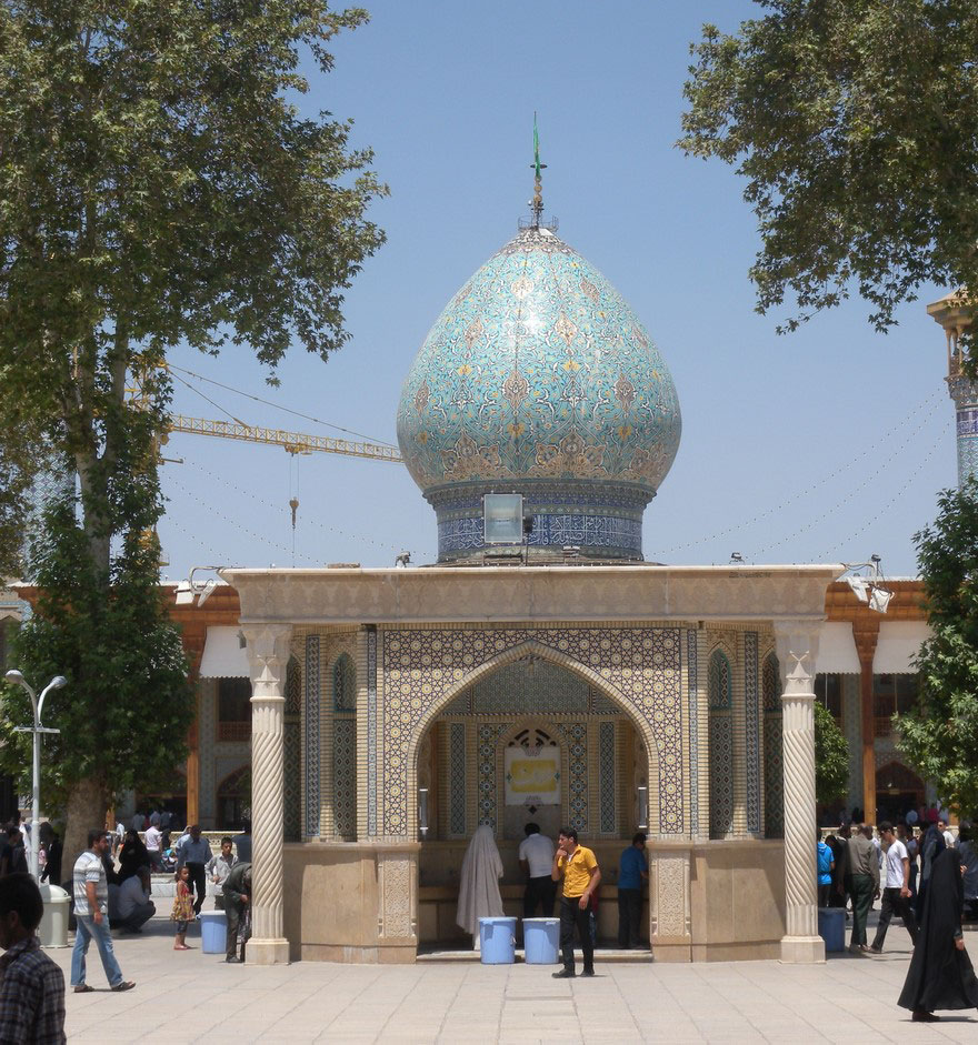 08 11 Shah-e-Cheragh Mausoleum Shiraz  - 35