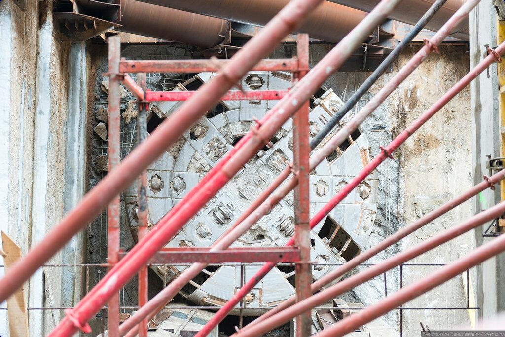 ТПМК законцил проходку тоннеля от станции «Новопеределкино»