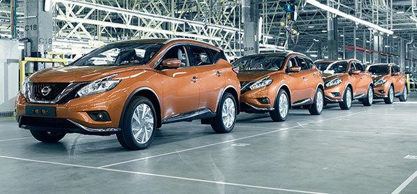 В России начнут выпускать обновленный Nissan Murano