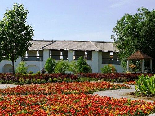 Цветники в Астраханском Кремле