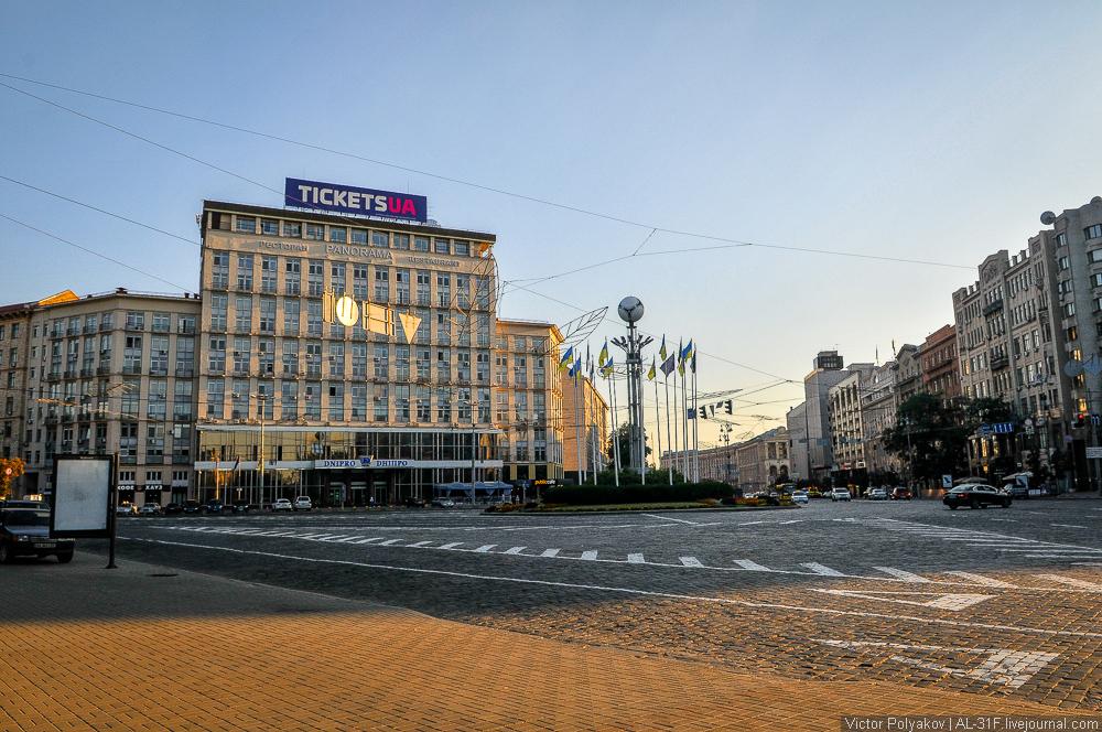 Европейская площадь. Киев