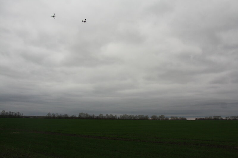28. Два самолёта. Усманский район, Липецкая область.JPG