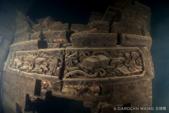 Shi Cheng is an eerie sunken ancient city in China. Before Shi Cheng was submerged, 290,000 people had to be relocated from the city in which their ancestors had lived in for well over a thousand years.