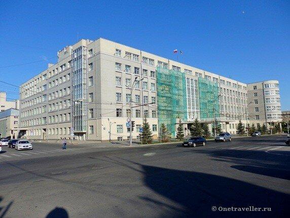 Новосибирск. Здание Крайисполкома (Дом Советов)