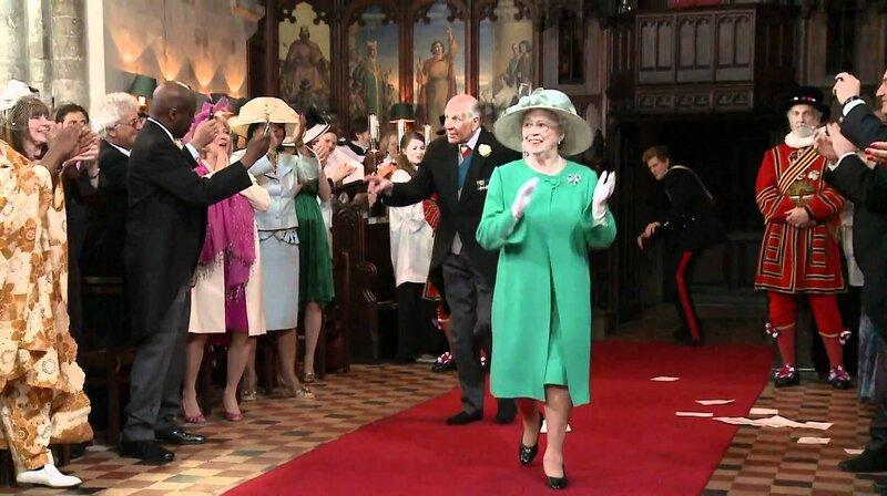 Пародия на королевскую свадьбу