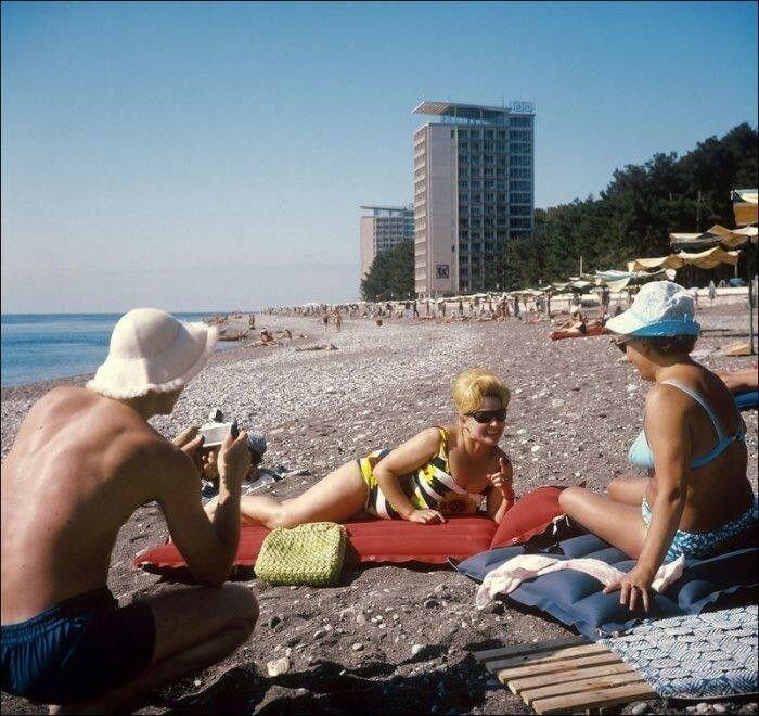 Фотофакт: Отдых во времена СССР