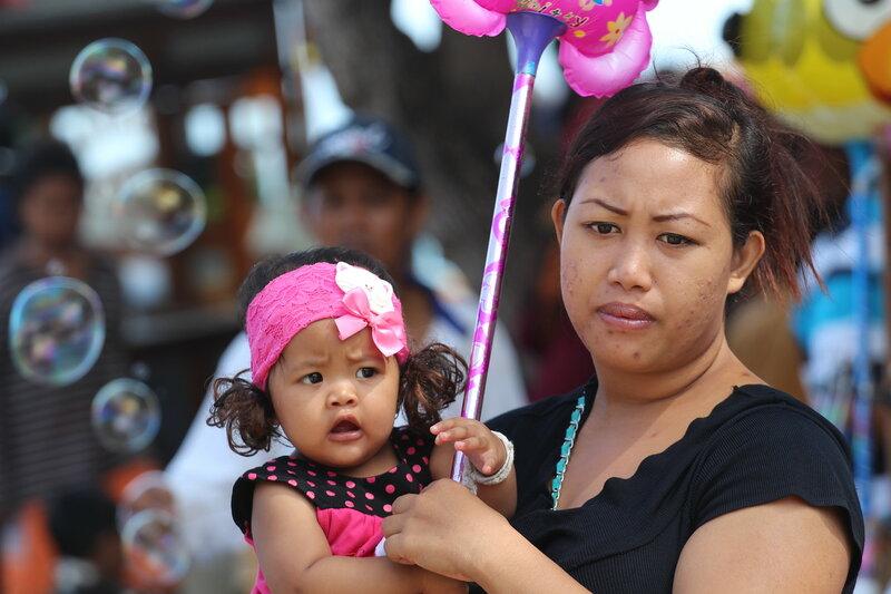 жители Бали