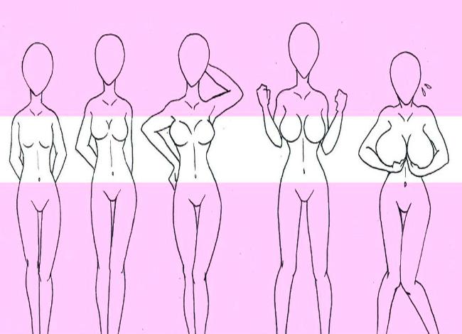 Вот какой размер груди нравится мужчинам больше всего (1 фото)