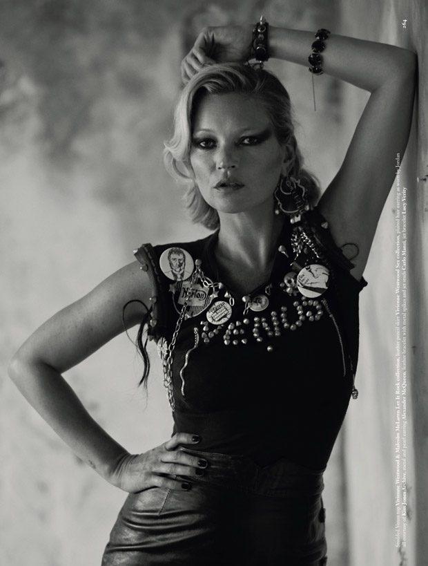 Кейт Мосс в Dazed Magazine