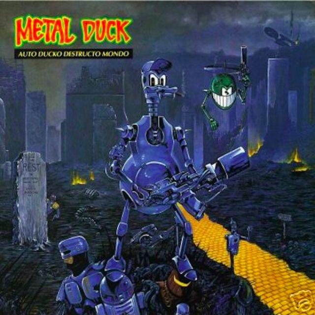 Альбом Auto Ducko Destructo Mondo группы Metal Duck.
