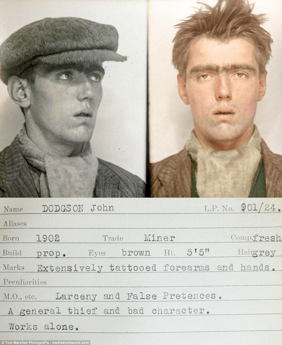 Гоп-стоп, мы не боимся Скотленд-Ярд: цветные снимки преступников 1930-х (11 фото)