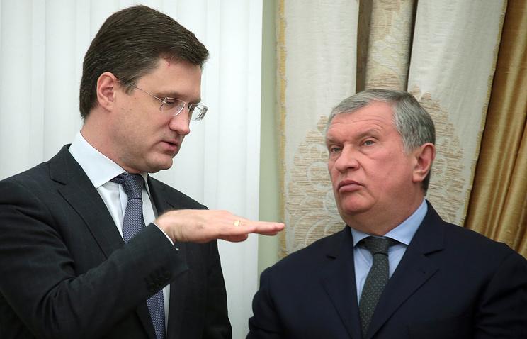 Российское руководство выдвинуло Новака иСечина в директорский состав «Роснефти»